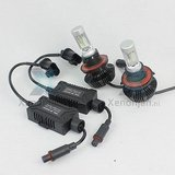 Led koplamp set H10 12V en 24V Luxeon Zes Lumileds_