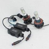 Led koplamp set H13 12V en 24V Luxeon Zes Lumileds_