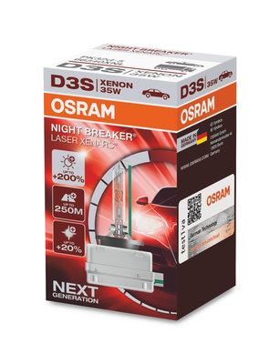 Osram Xenarc D3S 66340XNL xenonlamp Night Breaker Laser