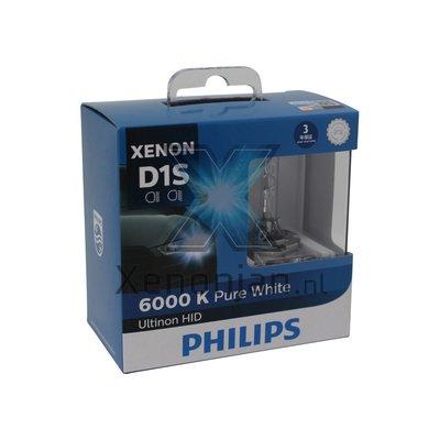 Philips D1S Ultinon 6000K 85410WXX2 xenonlamp 2X