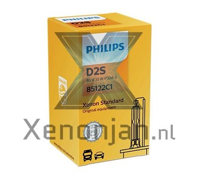 Philips D2S Vision 85122VIC1 xenonlamp