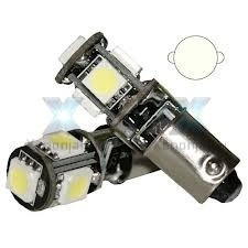 BA9S T4W 5 of 9 SMD canbus led