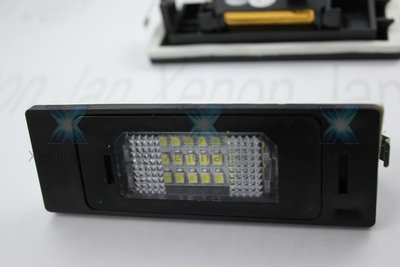 Complete vervanging originele kentekenverlichting voor led BMW E63 E64 Astra Mini