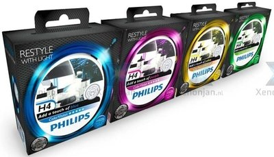 Philips H4 ColorVision 12342CVPBS2