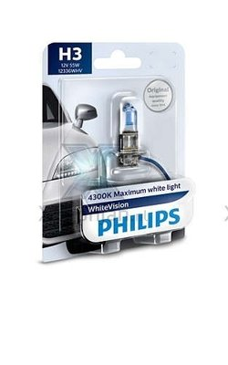 Philips H3 WhiteVision 12336WHVB1
