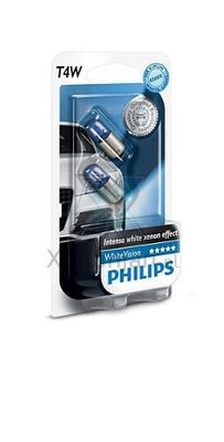 Philips T4W BA9S WhiteVision 12929NBVB2