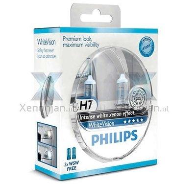 Philips H7 WhiteVision 12972WHVSM