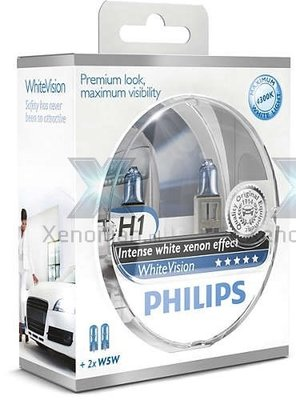 Philips H1 WhiteVision 12258WHVSM