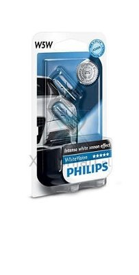 Philips W5W T10 WhiteVision (12961NBVB2)