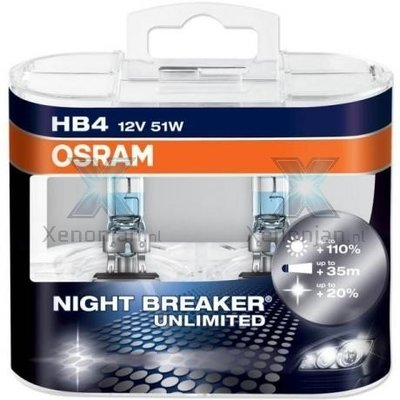 Osram Night Breaker Unlimited HB4 9006