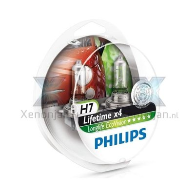 Philips LongLife Ecovision H7 2x