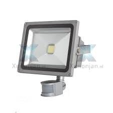 Led bouwlamp 50W met sensor / bewegingsmelder