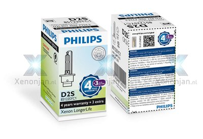Philips D2S LongerLife 85122SYC1 xenonlamp