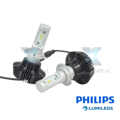 Led koplamp set H7 12V en 24V Luxeon Zes Lumileds