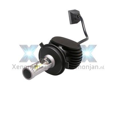Led koplamp set H4 12V en 24V zonder ventilator!