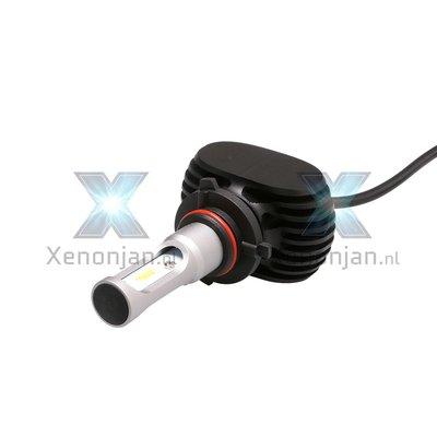 Led koplamp set H10 12V en 24V zonder ventilator!