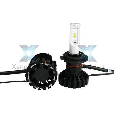 Led koplamp set H10 12V en 24V Luxeon Zes Lumileds