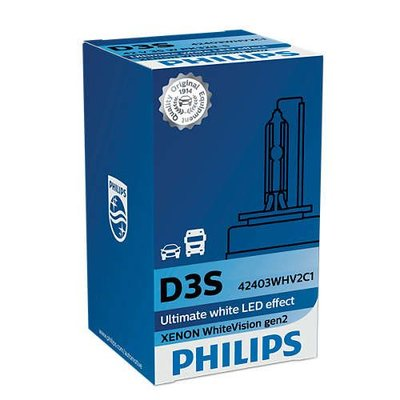 Philips D3S White Vision Gen2 42403WHV2C1 xenonlamp