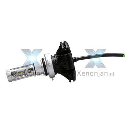 Led koplamp set 9007 HB5 12V en 24V Luxeon Zes Lumileds 10000 lumen