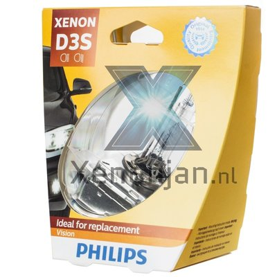 Philips D3S Vision 42403VIC1 xenonlamp
