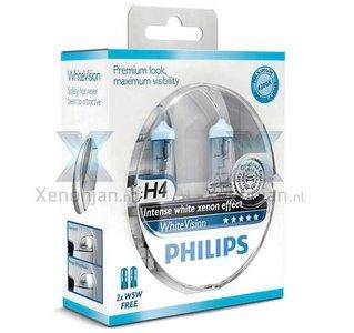 Philips H4 WhiteVision 12342WHVSM
