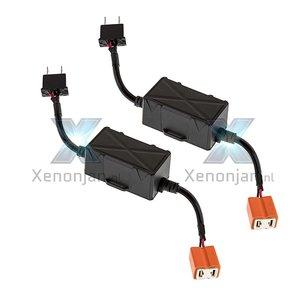 H7 canbus led verlichting weerstand / digitale decoder / canceller voor led dimlicht / koplamp / mistlamp set 2e gen