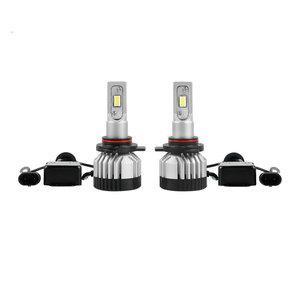 Canbus Led koplamp set HIR2 9012 12V HML3 led chip