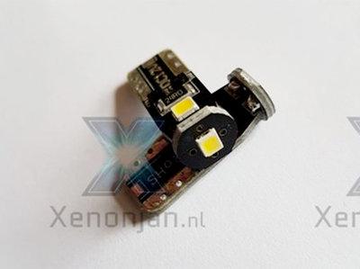T10 led W5W 3 SMD felle uitvoering